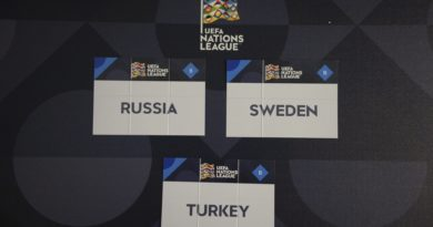 Turkiets spelschema i Nations League