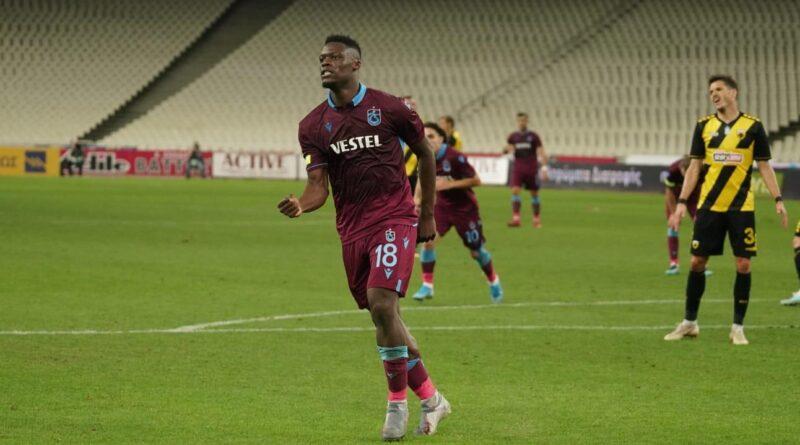 Hattrick av Caleb Ekuban när Trabzonspor vände och vann mot AEK