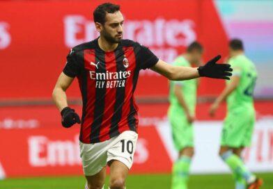 Calhanoglu gjorde flest assist i Serie A 2020