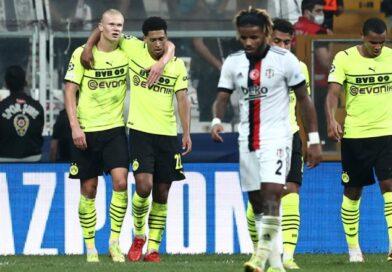 Champions League: Besiktas förlorade mot Dortmund