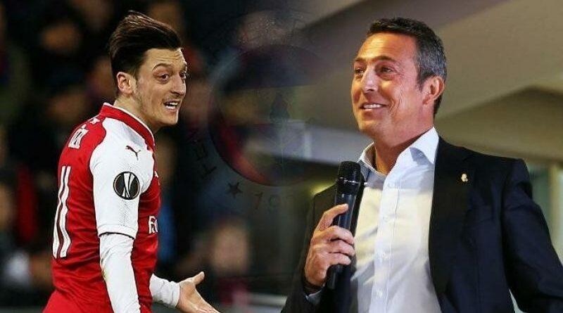 Ali Koc hyllar Mesut Özil