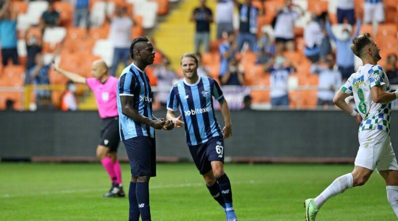 VIDEO: Balotelli har gjort sitt första mål i Adana Demirspor